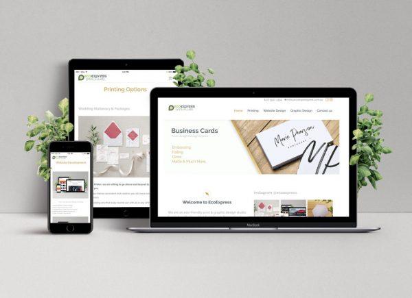 Website package ecoexpress print web website design package reheart Images